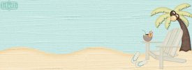 Chillin at the Beach Facebook Timeline Cover